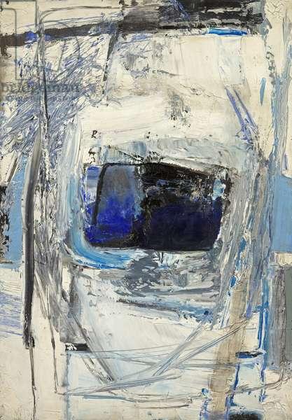 Porthleddon, Blue, 1961 (oil on canvas)