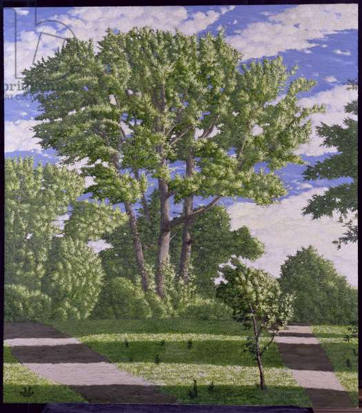 Oxford Parks, 2004 (oil on board)