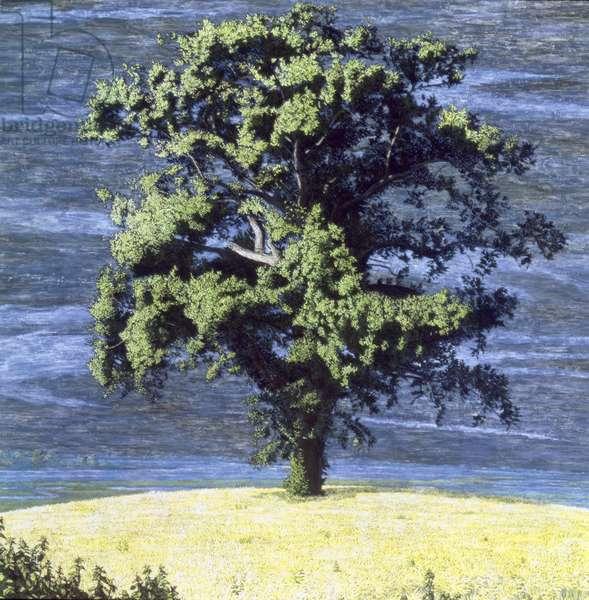 Oak Tree, 1995 (mixed media)