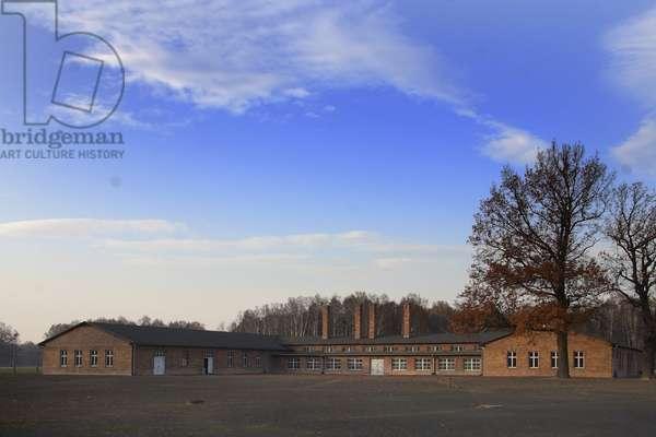 The Central Sauna at Auschwitz-Birkenau (photo)