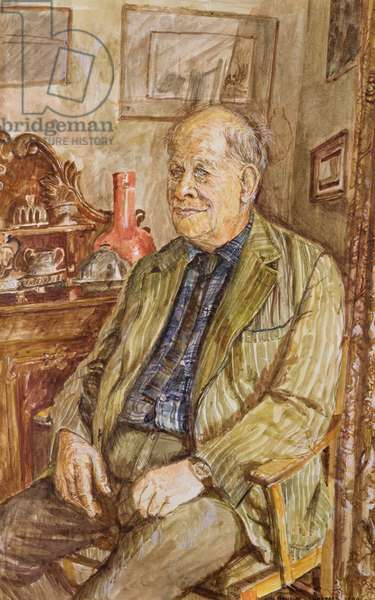 Portrait of Carel Weight (1908-97) 1978 (w/c on paper)