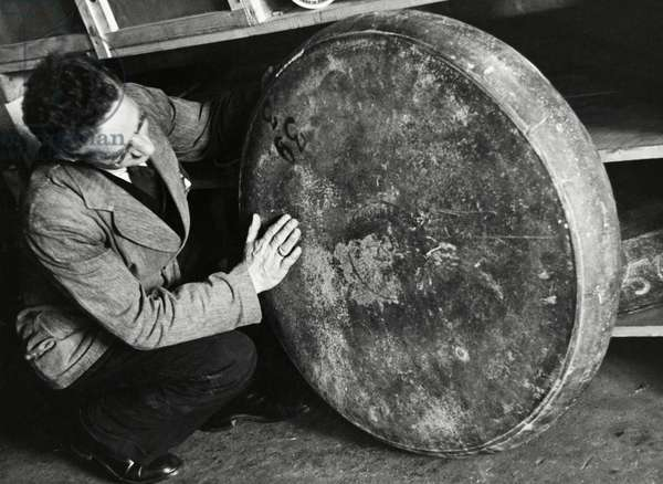 Dairy industry: cheese trade, The Netherlands, 1935