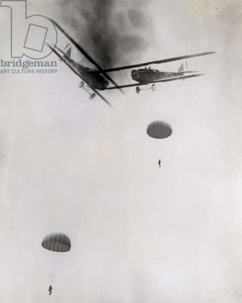 Aviation Accident, probably photomontage, 1930