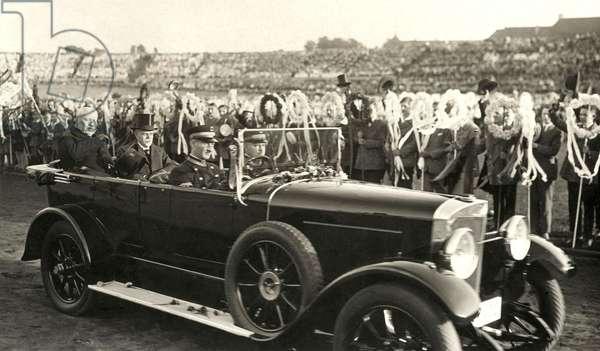 Paul von Hindenburg in Berlin, 1927