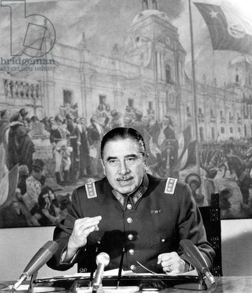 Augusto Pinochet, 1973