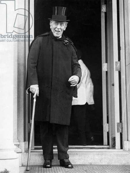 Woodrow Wilson, 29 June 1919