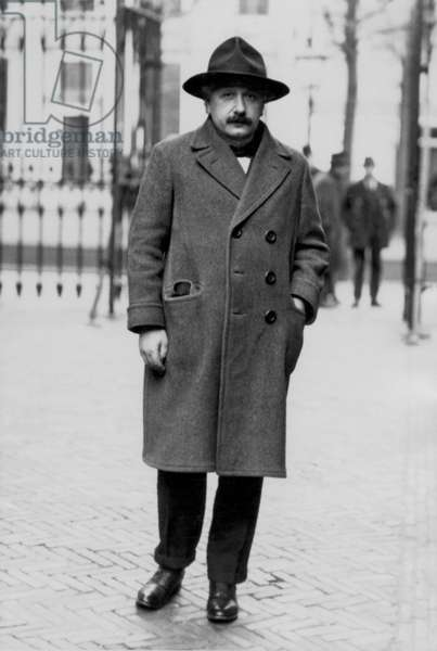 Albert Einstein in Leyden, c. 1920