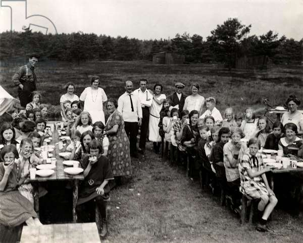 Children's holiday camp, Gilze-Rijen, Noord-Brabant, Netherlands, 1925