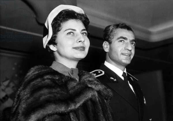 Queen Soraya, 1955