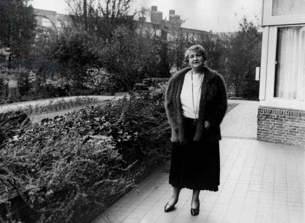 Alma Mahler, 1938