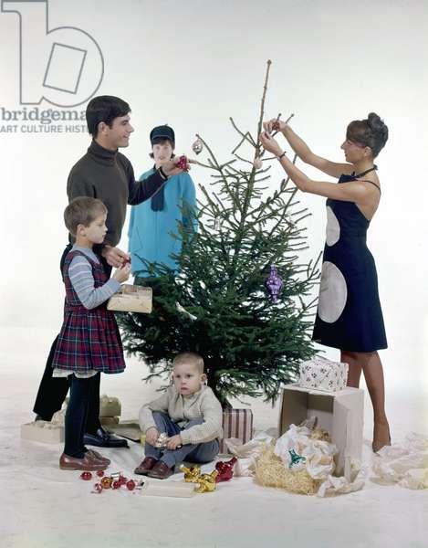 Christmas, The Netherlands, 1963