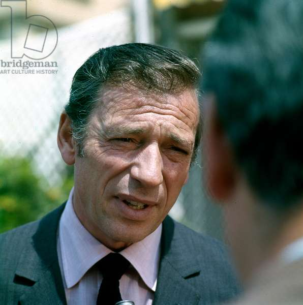 Yves Montand, c.1965-75 (photo)
