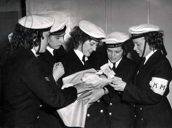 Repatriates, Holland, July 10th 1950