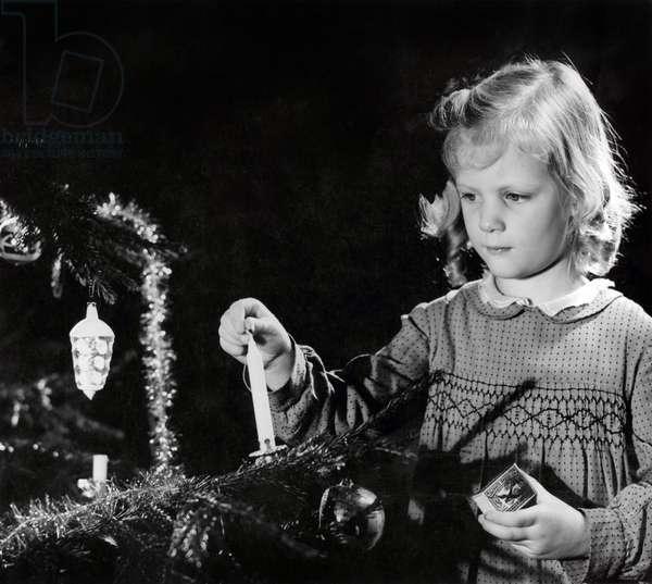 Christmas, The Netherlands, 1942