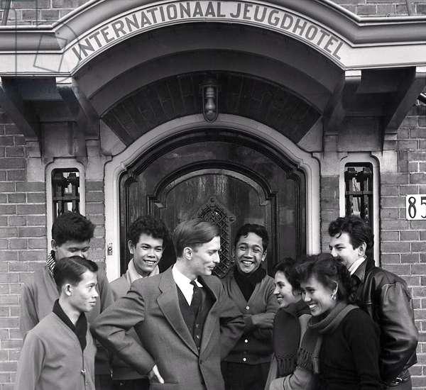 Repatriates, Holland, Scheveningen, February 22nd 1958