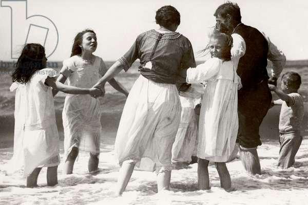 Beach life, Netherlands, 1921