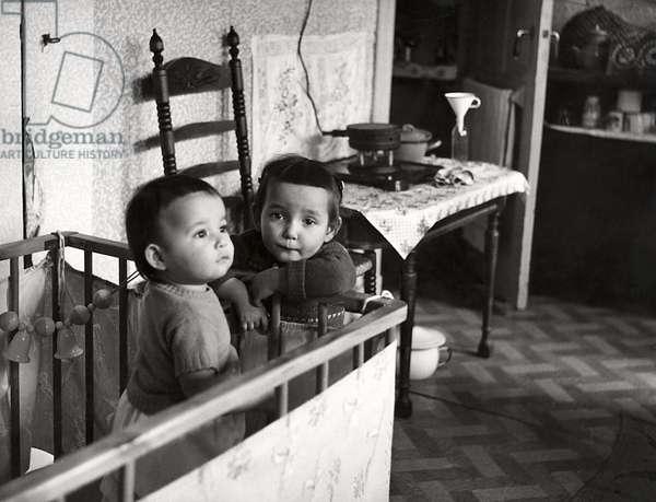 Repatriates, Holland, Amsterdam, 1956