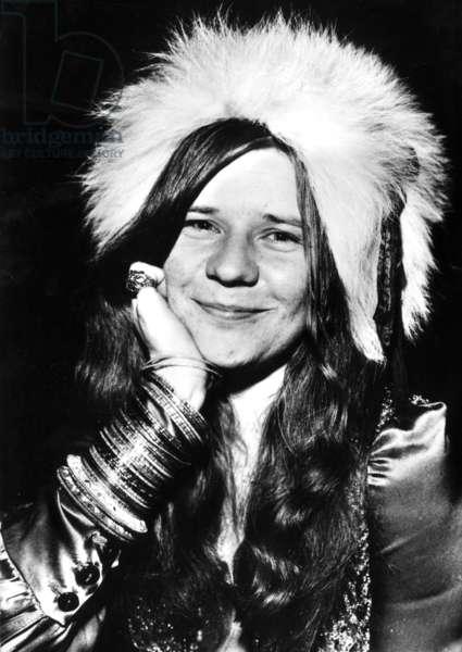 Janis Joplin, c.1965-70 (b/w photo)