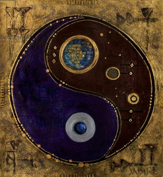 Gemini-Sagitarius, 2009 (mixed media)