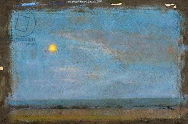 Moonlight, 1918 (pastel on paper)