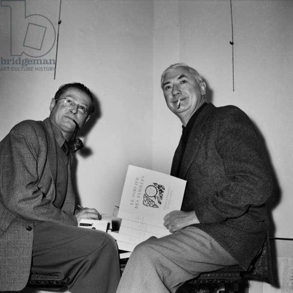 Leo Malet and Felix Labisse