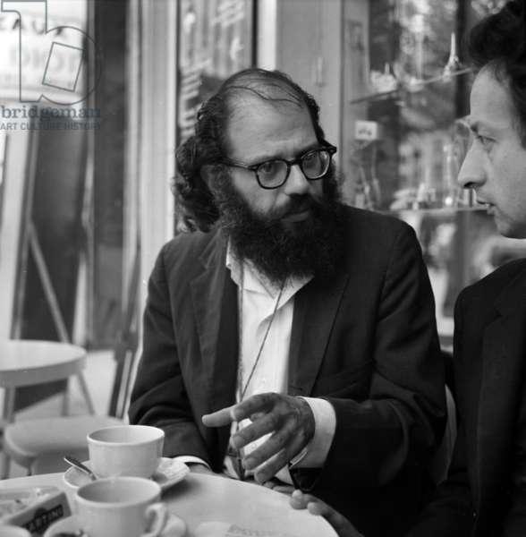 Allan Ginsberg and Dominique de Roux