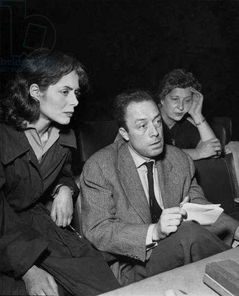 Catherine Sellers et Albert Camus