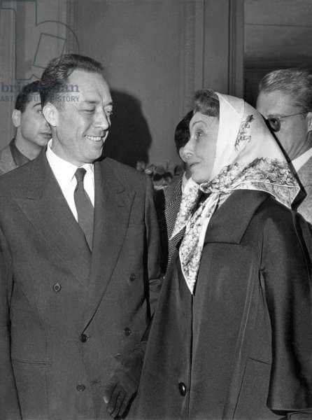 Albert Camus and Madeleine Renaud