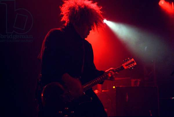 Buzz Osborne of the grunge rock band The Melvins