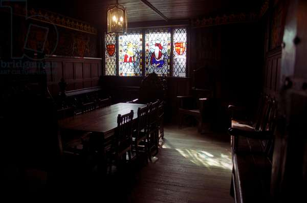 Old Council Chamber at St. Mary's Guildhall