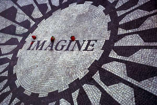 Strawberry Fields Memorial to musician John Lennon