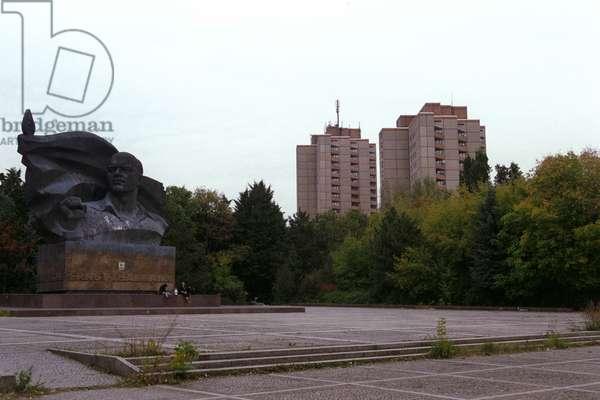 The Ernst Thälmann monument
