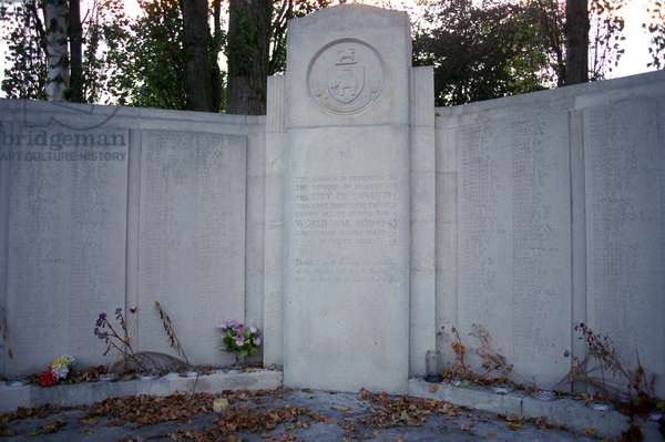 Civilian Monument at the London Road Cemetery