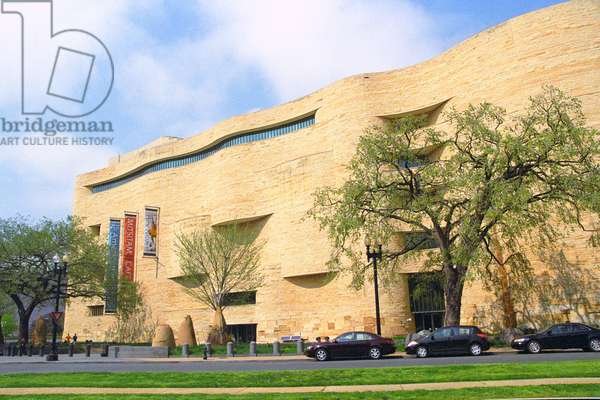 The National Museum of the American Indian.