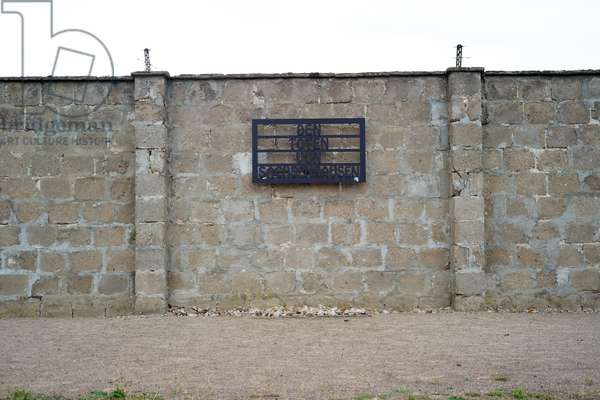 A memorial for the people murdered at Sachsenhausen concentration camp and memorial in Oranienburg, Germany, 2018 (photo)