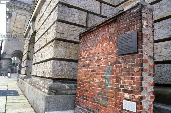 Berlin Wall plaque