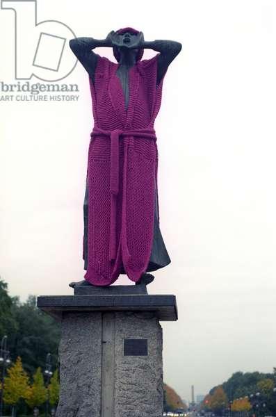 The Rufer statue
