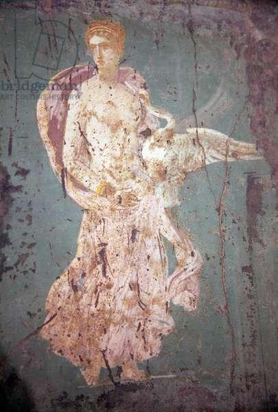 Leda and the Swan, from Villa Arianna in Stabiae (fresco)