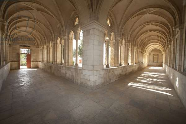 Cloister at Pater Noster Church and Convent, Jerusalem, Israel, 2007 (photo)