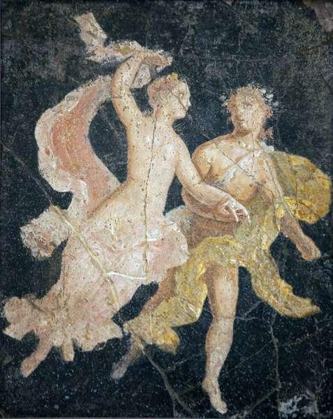 Couple in Flight, from Villa Arianna, Stabiae (fresco)