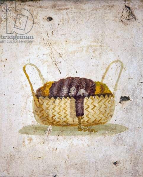 Basket, from Villa Arianna in Stabiae (fresco)