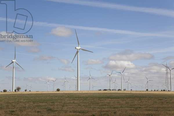 Wind turbines, Spain (photo)