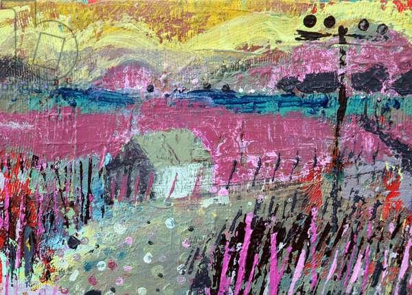 Landscape Iona, 2019 (acrylic on canvas)
