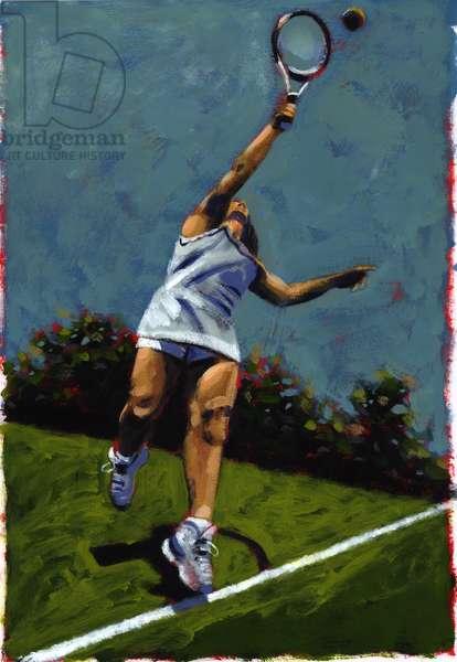 Sportswoman, 2009 (acrylic)