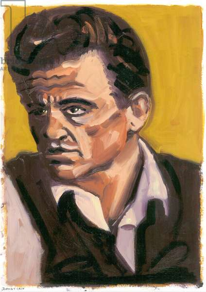 Johnny Cash, 2080 (oil)