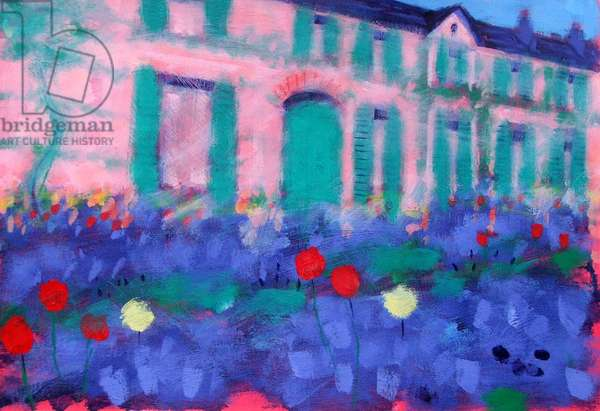 Giverny (acrylic on board)