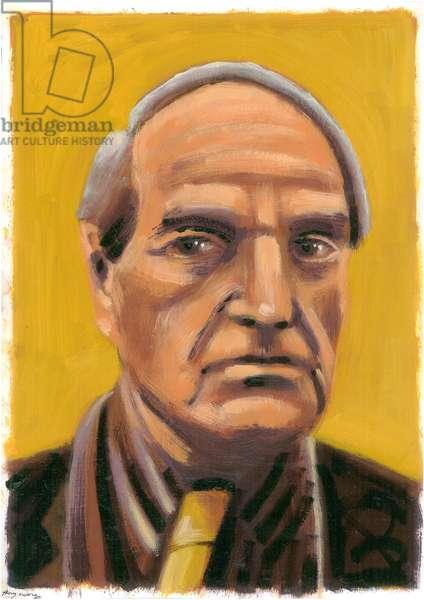 Henry Moore, 2009 (oil)