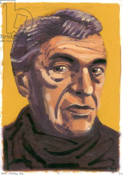 Paul Scofield, 2008 (oil)