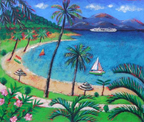 Caribbean (acrylic on canvas)