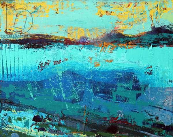 Sound of Iona III (acrylic on canvas)